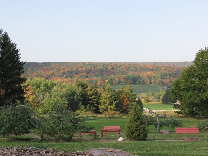 Ski-Hi Fruit Farm fall view