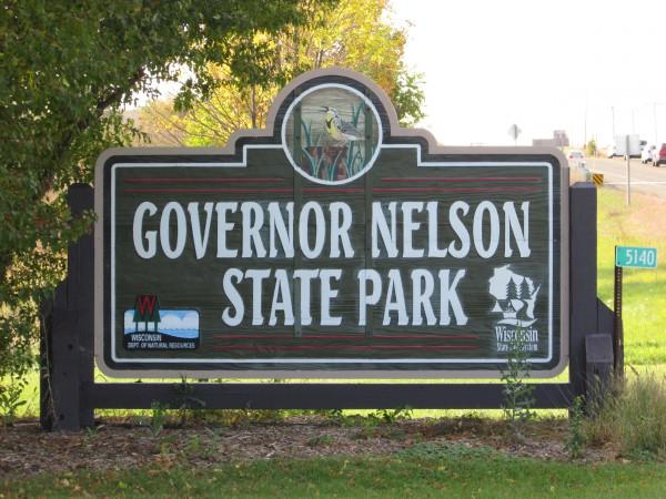 Gov Nelson State Park sign