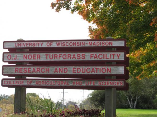 UW Turfgrass Facility in Verona