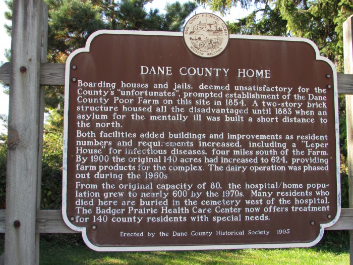 Dane County Home marker