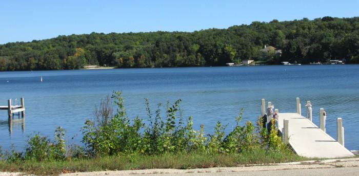 Lake Nagawicka in Delafield