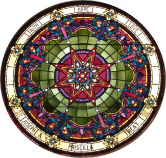 Round Stained glass Window 1