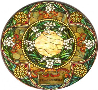 Round Stained glass Window 2