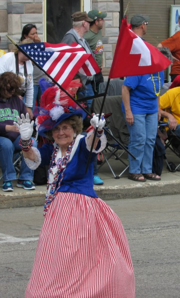 National Mutual Benefit  Volunteer Betsy Ross
