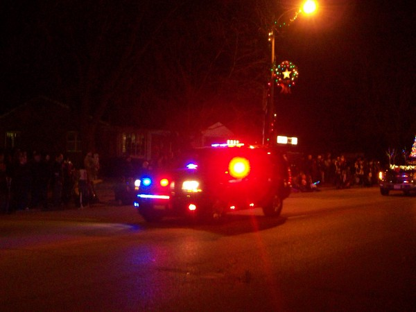 Sauk Prairie Holiday Parade Start