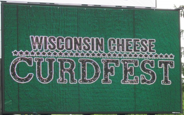 Curdfest sign