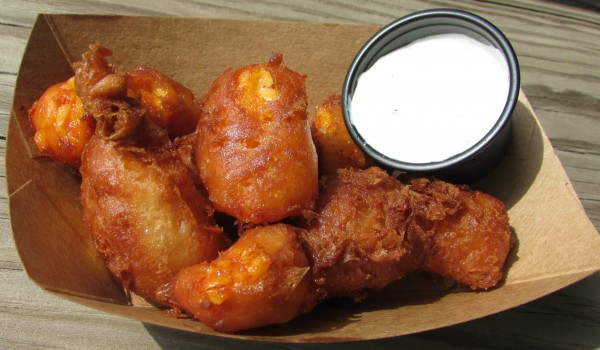Fried Cheese Curds at Curdfest