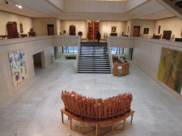 Chazen Museum lobby in Madison
