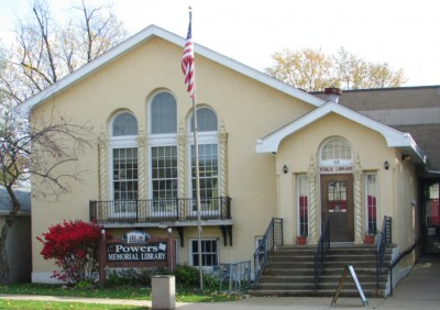 Powers Memorial Library in Palmyra