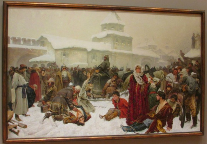 The Fall of Novgorod 1891 at Chazen