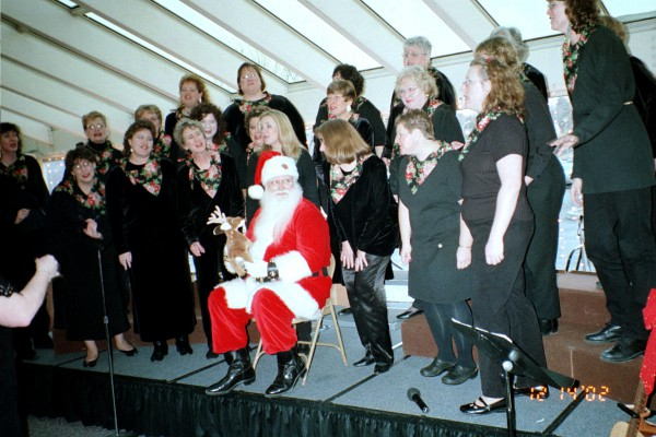 Yahara River Chorus 2002 at Hilldale