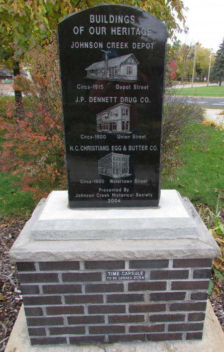 Historical Johnson Creek Monument