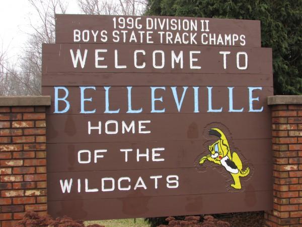 Belleville Sign