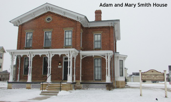 Adam and Mary Smith House in Sun Prairie