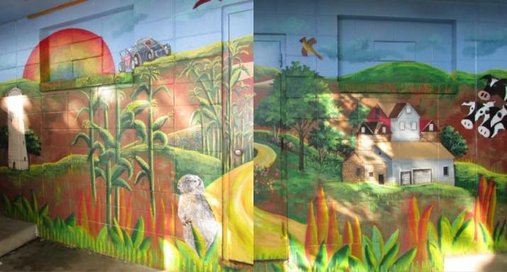 Angell Park Mural in Sun Prairie