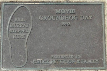 Bill Murray's Puddle Plaque