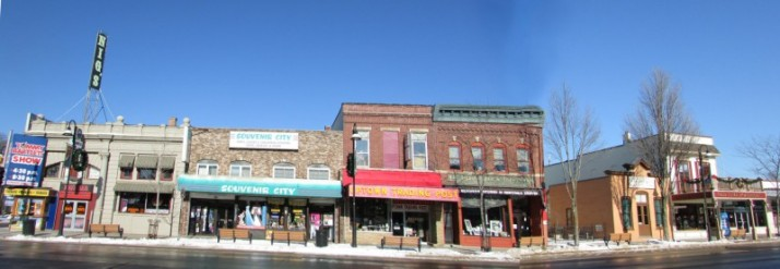 Broadway 200 Block Businesses in Wisconsin Dells