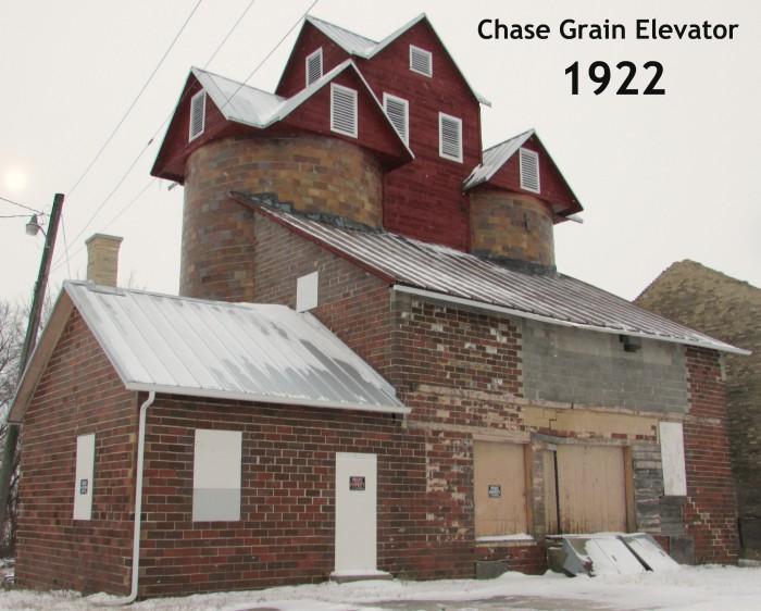 Chase Grain Elevator 1922