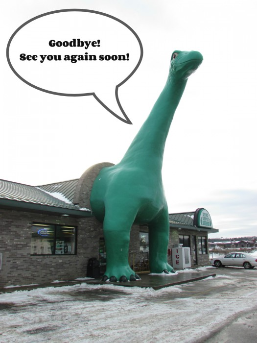 Citgo Dino Goodbye in Dells