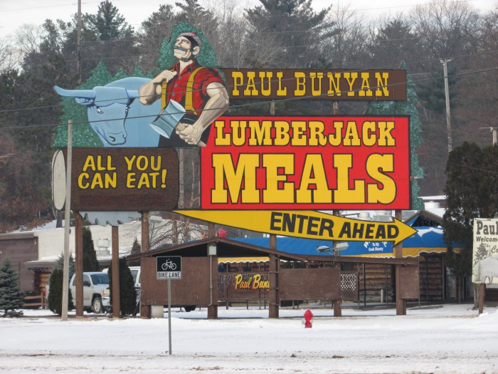 Paul Bunyan in the Dells