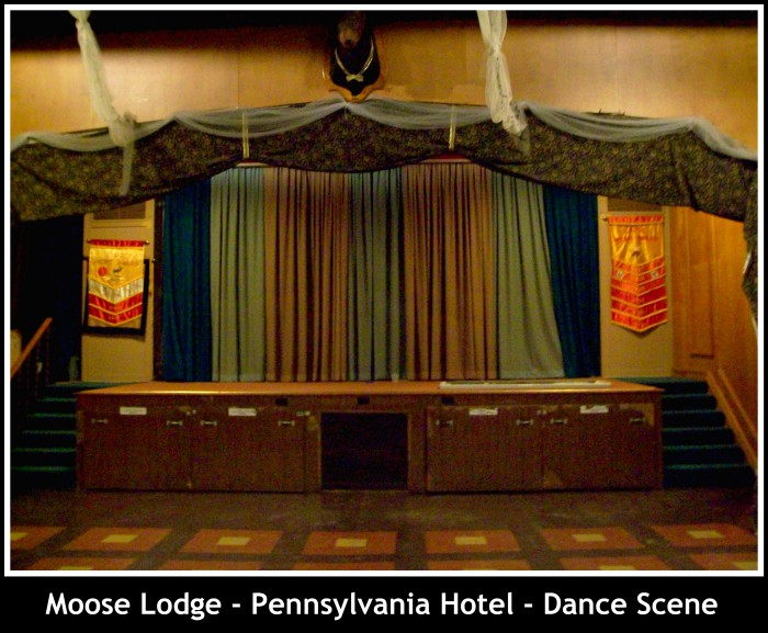 Moose Lodge inside - Dance Scene in Woodstock