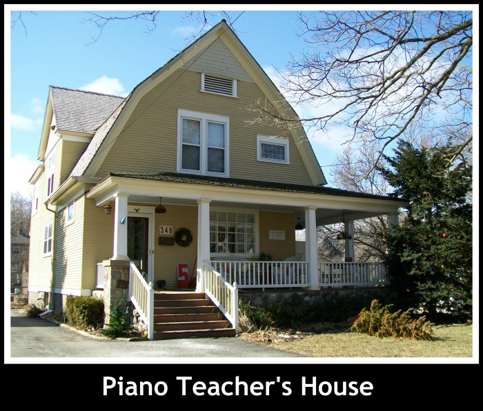 Piano Teacher's House in Woodstock