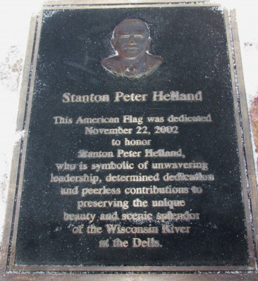 Stanton Peter Helland plaque