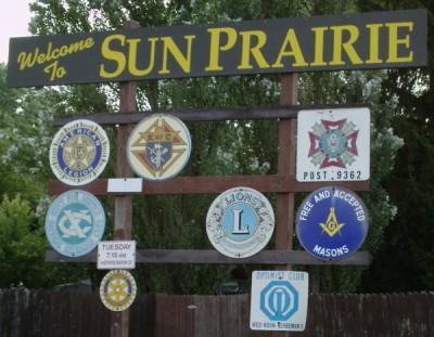 Sun Prairie Sign
