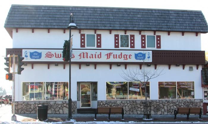 Swiss Maid Fudge in Wisconsin Dells