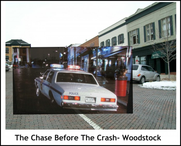 The Chase Before the Crash in Woodstock Square