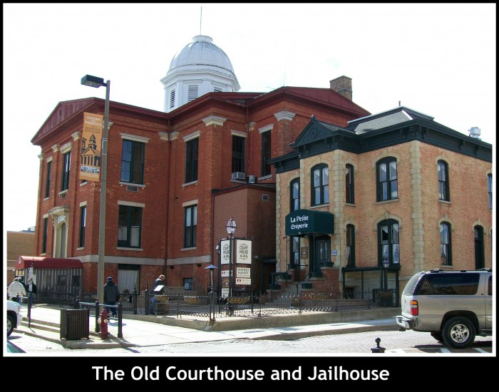 The Old Courthouse and Jail in Woodstock