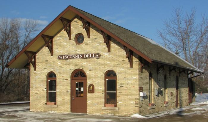 Wisconsin Dells Amtrak Depot