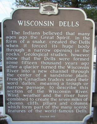 Wisconsin Dells Marker