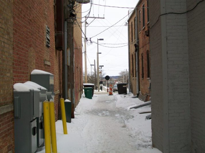 Old Man Alley view from other side