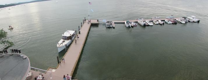 Edgewater Dock Panorama