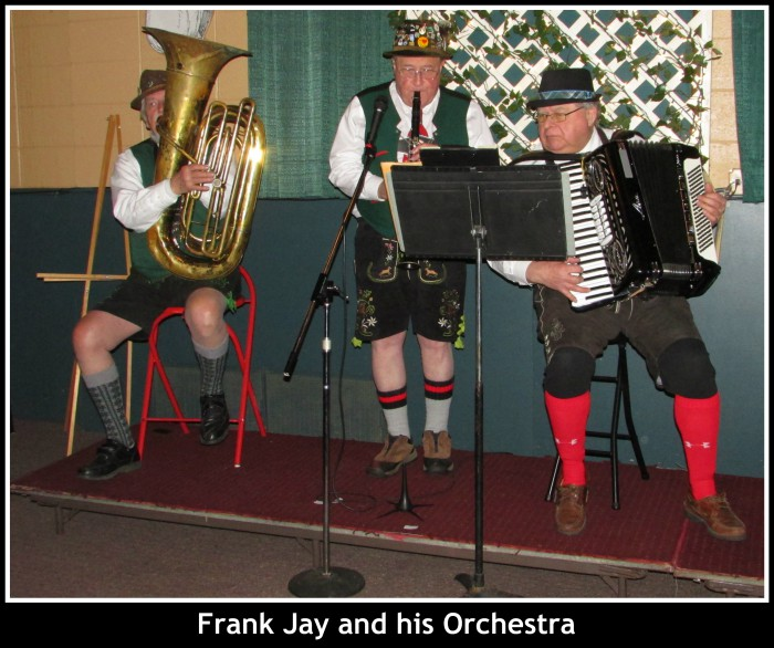 Frank Jay and his Orchestra in Woodstock