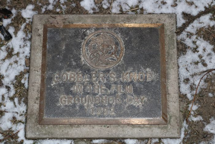 Gobbler's Knob Plaque in Woodstock