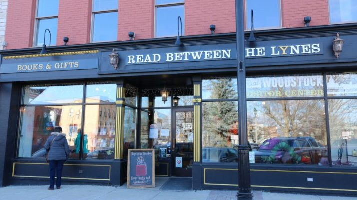 Read Beween the Lynes bookstore in Woodstock