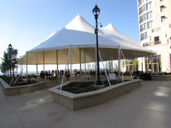 Edgewater special event tent