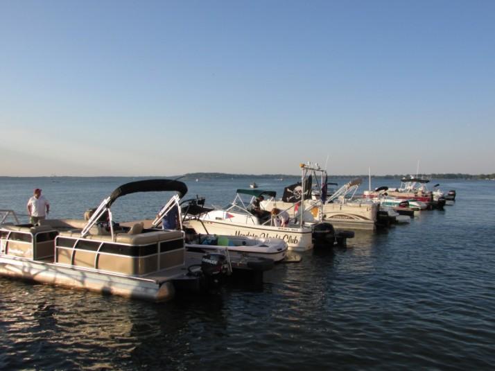 Boat ships at Edgewater