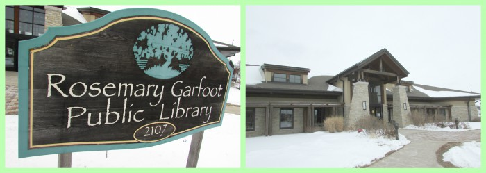 Rosemary Garfoot Library collage in Cross Plains