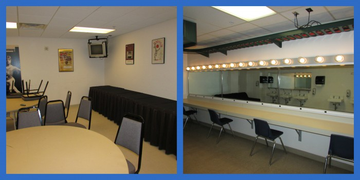 Green Room and Dressing Room