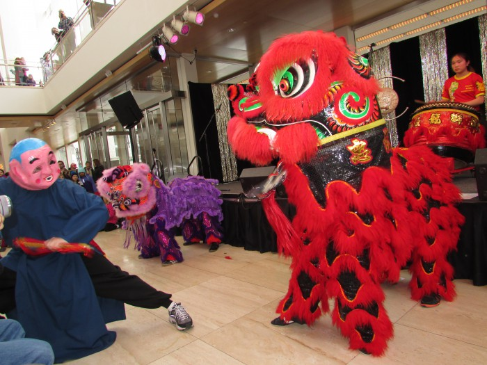 Chinese Dragon Dance at International festival at Overture Center