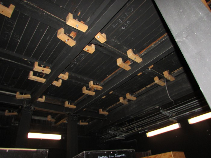 Capitol Theater trap doors at Overture