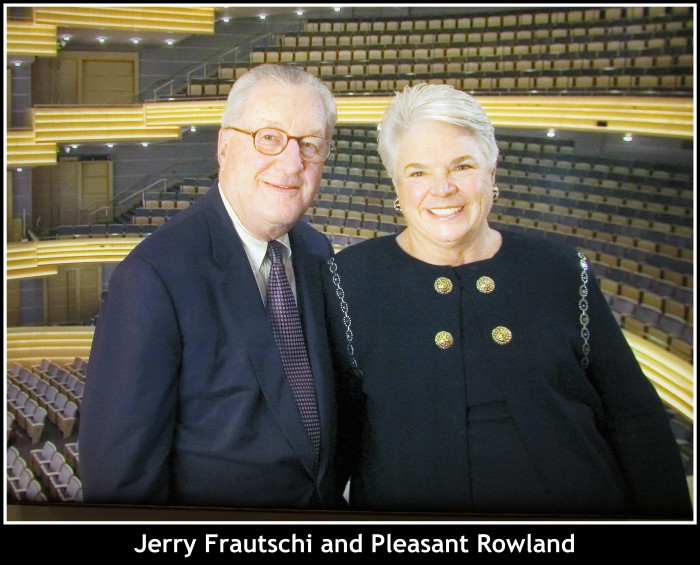Jerry Frautchi and Pleasant Rowland