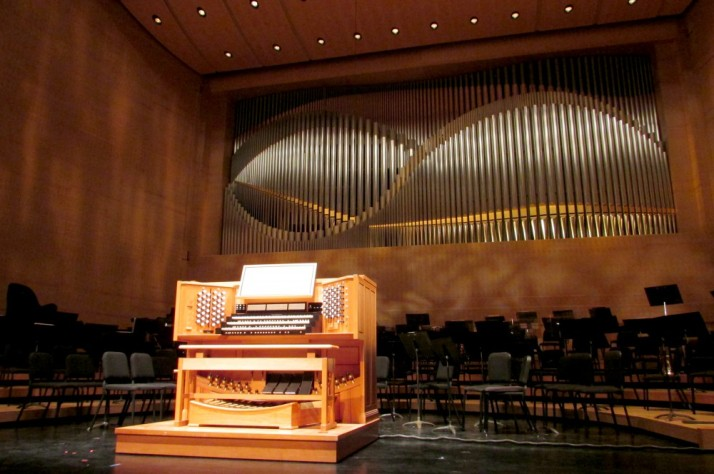 Overture Hall Organ at Overture Center