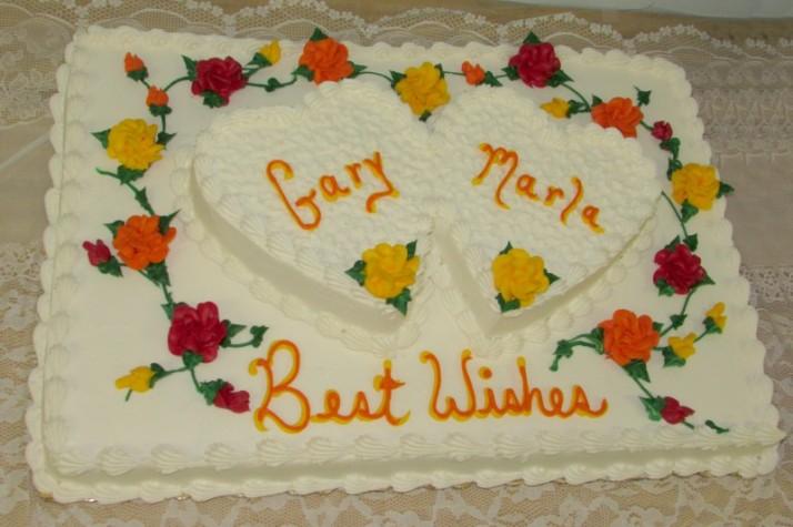 Bon Ton Bakery Wedding Cake