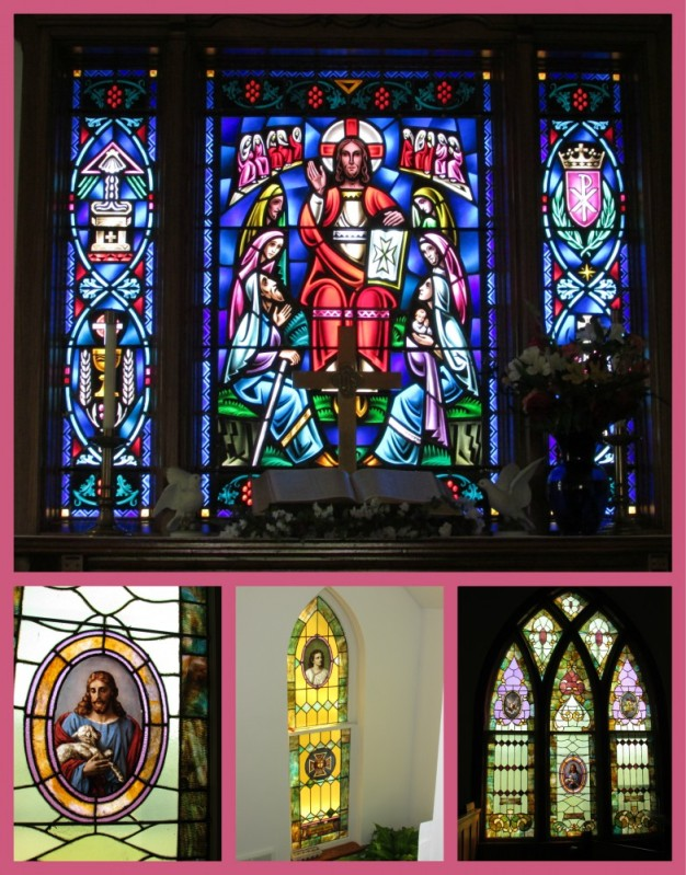 Brooklyn Methodist Church Windows