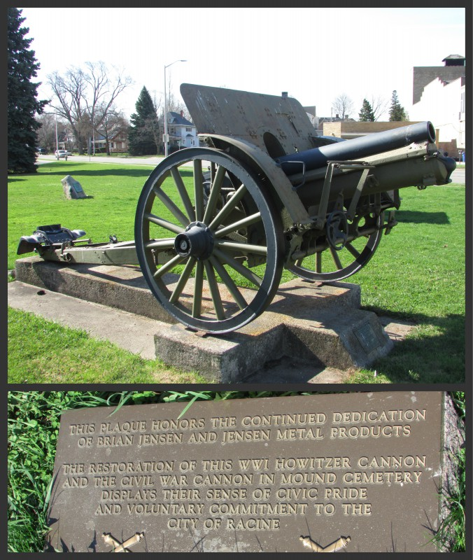 Cannon in Washington Park in Racine