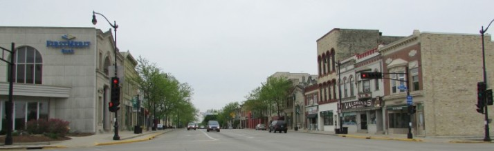 Downtown Historic District in Jefferson